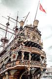Galeone Neptune ship, tourist attraction in Genoa
