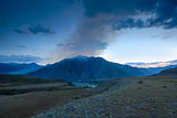 evening landscape of the Altai Mountains, Russia