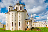 View St. Nicholas Cathedral in Veliky Novgorod. Russia