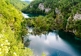 Beautiful landscape. Plitvice Lakes National Park in Croatia