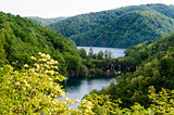 Beautiful landscape. Plitvice Lakes National Park in Croatia