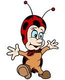 Cheerful Ladybug