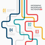Vector line business concept template