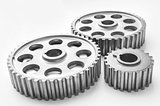 Steel car gears