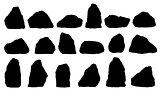 stone silhouettes