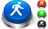 Walking Icon on Internet Button