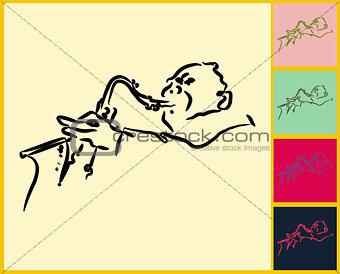 Sketched Music Color Set