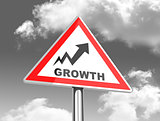 the growth sign
