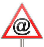 the email sign