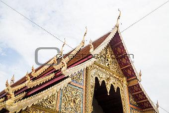 Pra Singha temple in Chiang Mai, Thailand