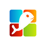 Logo for fisheries business