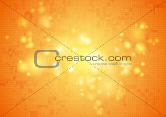 Abstract tech shiny vector background
