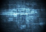 Dark blue grunge technical background