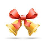 bells and ribbon