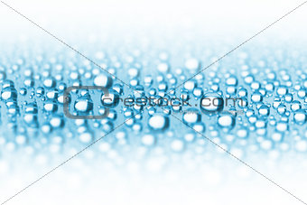 Abstract Water Drops Border - soft focus