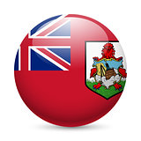 Round glossy icon of Bermuda