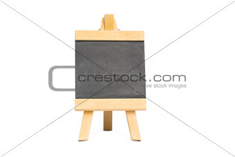 Black chalkboard with copy space