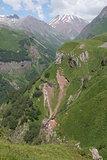 Cross pass, Caucasus Mountains, Georgia