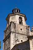 Bell tower in Collegiate Church of Santa Maria