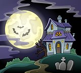 Haunted house theme image 2