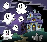 Haunted house theme image 4