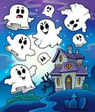 Haunted house theme image 6