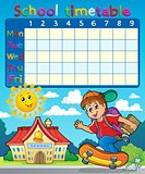 School timetable composition 7