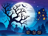 Spooky tree theme image 3