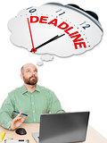 business man deadline