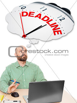 business man deadline