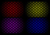 Abstract neon background collection