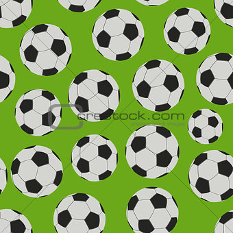 Football Game Seamless Pattern