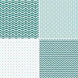 Seamless sea pattern, vector