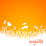 Аbstract floral background, vector