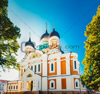 Alexander Nevsky Cathedral, An Orthodox Cathedral Church In The