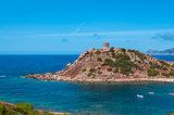Landscape of coast of Sardinia