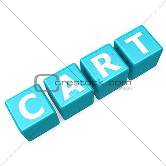 Cart blue puzzle