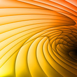 Orange and yellow waves.