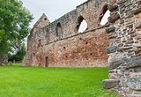 Forgotten old Scottish Abbey