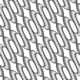 Design seamless monochrome twisted pattern