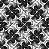 Design seamless vortex movement pattern