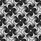 Design seamless vortex movement pattern