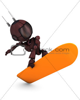 Android Snowboarder