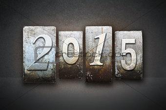 2015 Letterpress