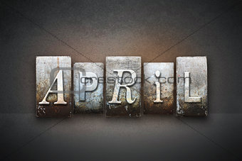 April Letterpress
