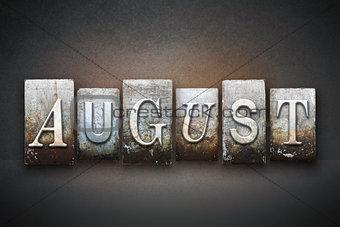 August Letterpress