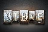 Bible Letterpress