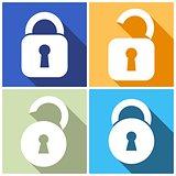 Locks icons