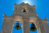 Orthodox Bell Tower In Santorini Island, Greece