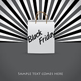 Black friday advertising background design
